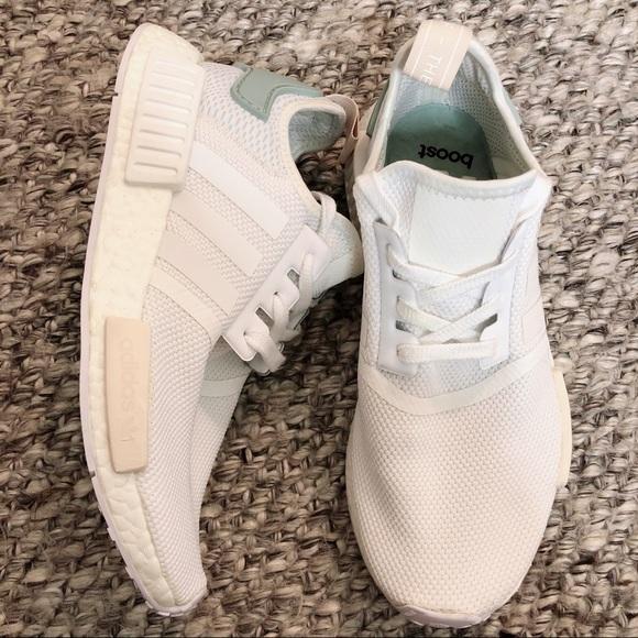 Adidas Shoes Womens Nmdr1 White Running Size 8 Poshmark